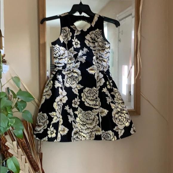 Children's Place Other - Children's Place Girls Metallic black/gold Dress